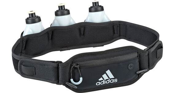 adidas Run Bottle Belt 3 drinksysteem zwart